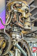 Photo of the T-800 Endoskeleton from the Terminator 3D Stock Photos