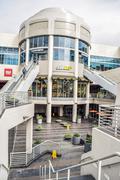 7021 Hollywood Blvd is home to LA Fitness, Fresh & Easy Neighborhood Market, CVS Stock Photos