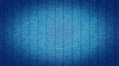 Hex code on blue screen Stock Footage