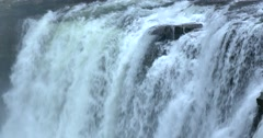Little River Falls, Alabama.  Little River Canyon National Preserve Stock Footage