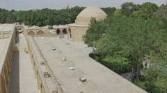 Isfahan Ali Qapu Palace Stock Footage