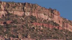 View of verdant mountain peak Stock Footage