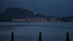 Lake Como in Italy - stock footage