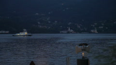 Lake Como in Italy Stock Footage