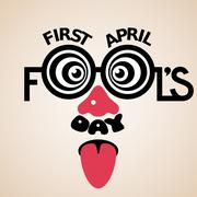 First April Fools day Stock Illustration