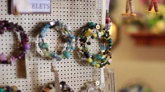 Jewelry close up Stock Footage