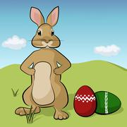Bunny Stock Illustration