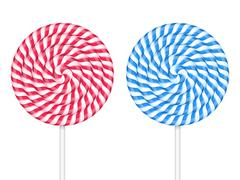 Lollipops - stock illustration