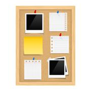 Stock Illustration of Bulletin Board