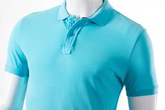 Male mannequin in polo t-shirt. - stock photo