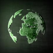 Abstract image of globe Stock Illustration