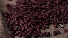 Kidney beans Stock Footage