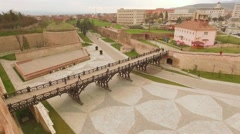 Stock Video Footage of Ancient fortress in Alba Iulia, Romania