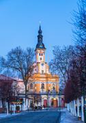 St. Marien church, Neuzelle abbey, Germany Stock Photos