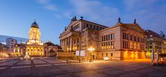Konzerthaus and Deutscher Dom - stock photo