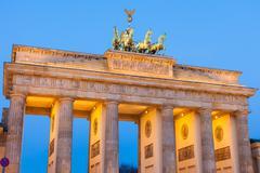 Stock Photo of Brandenburg Gate (Brandenburger Tor)
