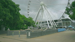 The Wheel Of Brisbane , Queensland, Australia 4K Stock Footage