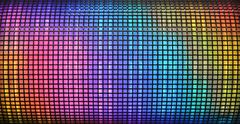 Abstract disco background - stock photo
