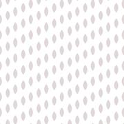 Simple drop polka dot shape seamless row pattern Stock Illustration