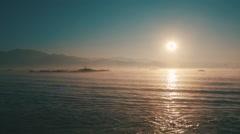 Sunrise Over Lake Inle in Myanmar (Burma) - stock footage