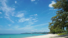 People Relax At The Beach In Phuket, Thailand. Stock Footage