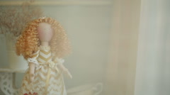 Toy Doll, Tilda Stock Footage