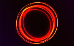 Abstract rounded vector explosion. Abstract plasma vector background. Stock Illustration