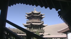 Dunhuang, Crescent Lake Oasis, China (4).mp4 Stock Footage