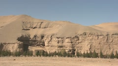 Dunhuang, Mogao caves, China (1).mp4 Stock Footage