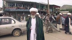 Feizabad, streetlife, Afghanistan (1).mp4 Stock Footage