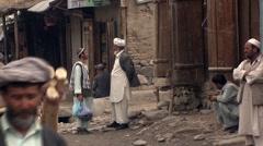 Feizabad, streetlife, Afghanistan (4).mp4 Stock Footage