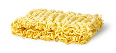 Noodles of fast preparation Stock Photos