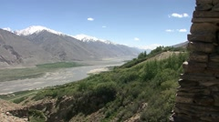 Wakhan valley, Kaak Kha fortress, Tajikistan (4).mp4 Stock Footage