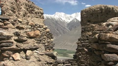 Wakhan valley, Kaak Kha fortress, Tajikistan (6).mp4 Stock Footage
