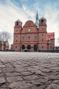 Church of St. Anne in Nikiszowiec district, Katowice, Poland - stock photo