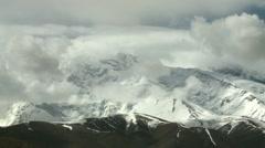 Xinjiang, mountains, China (1ex).mp4 Stock Footage