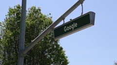 Google street - stock footage
