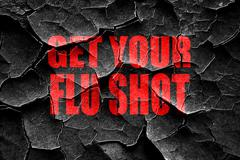 Grunge cracked Get your fly shot background - stock illustration