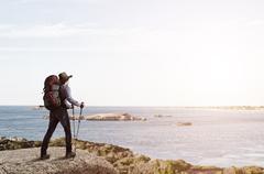 Trekking and hiking Kuvituskuvat