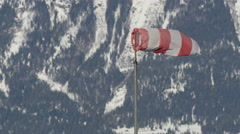 Stock Video Footage of Close view of a wind indicator, Kitzbühel