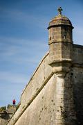 Blaye citadel, France,  Travel, Gironde, Aquitaine, Vauban Stock Photos