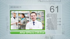 Dynamic Periodic Medical Show - stock after effects