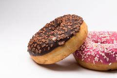 different donuts - stock photo