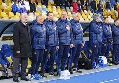 Friendly match Ukraine vs Wales in Kyiv, Ukraine - stock photo