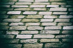 Paving stone background Stock Photos