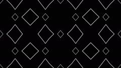 Abstract loop kaleidoscope - stock footage