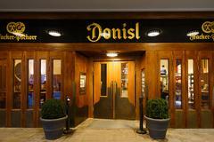 The donisl pub in Munich - stock photo