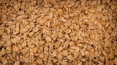 Rolled Oats Rotating Stock Footage