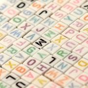 abc english alphabet - stock photo