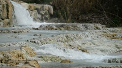 Natural thermal springs in Saturnia, Italy. Stock Footage